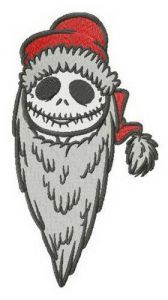 Jack Santa embroidery design
