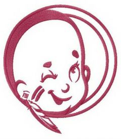 Junior Florida State Seminoles alternative logo embroidery design
