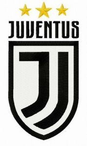 Juventus alternative logo embroidery design