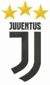 Juventus logo embroidery design 4