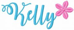 Kelly free embroidery design