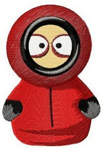 Kenny McCormick embroidery design