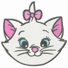 Kitty Mary embroidery design