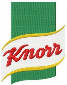 Knorr embroidery design