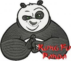 Kung Fu Panda 3 embroidery design