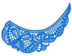 Lace collar 2 embroidery design
