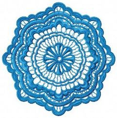 Lace doily 2 embroidery design