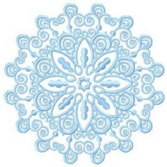 Lace doily 3 embroidery design
