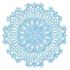 Lace doily 5 embroidery design