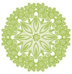 Lace doily 6 embroidery design
