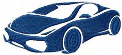Lamborghini embroidery design