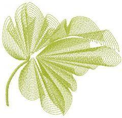 Leaf 1 embroidery design