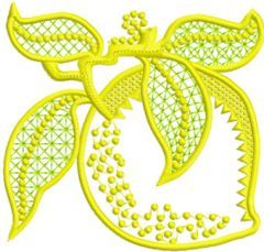 Limon Applique embroidery design