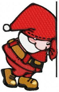 Little Santa 3 embroidery design