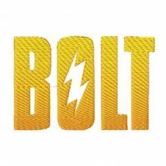 BOLT logo 1 embroidery design