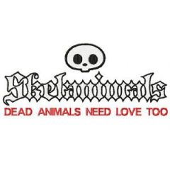 Skelanimals Logo embroidery design