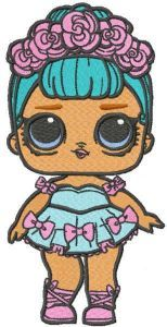 Lol Doll embroidery design