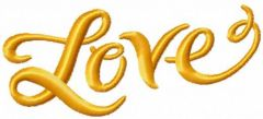 Love 9 embroidery design