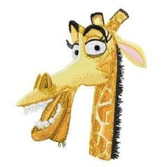 Melman embroidery design
