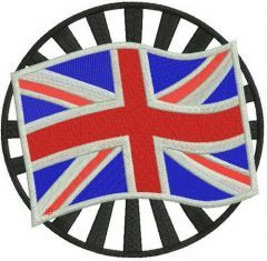 Made in the UK 3 embroidery design