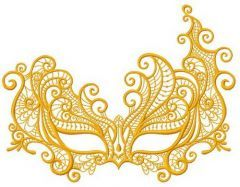 Mask 2 embroidery design