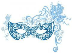 Mask 4 embroidery design
