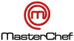 MasterChef logo embroidery design
