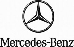 Mercedes-Benz Logo embroidery design