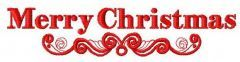 Merry Christmas 4 embroidery design