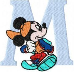 Mickey Mouse 2 embroidery design