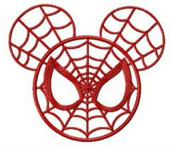 Mickey Mouse web embroidery design