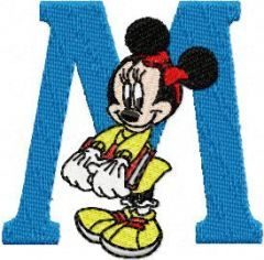 Minnie Mouse 2 embroidery design
