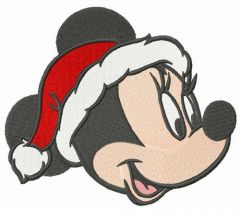 Minnie's X-mas embroidery design