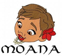 Moana 3 embroidery design