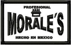 Morales Hecho En Mexico Logo embroidery design