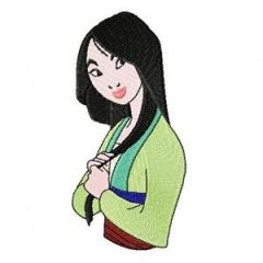 Mulan 2 embroidery design