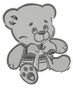 My first teddy 3 embroidery design