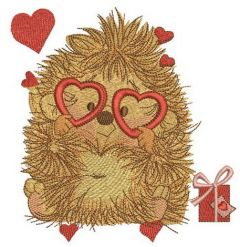 My prickly Valentine 2 embroidery design