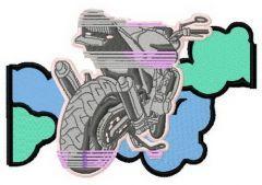 My sport bike 2 embroidery design