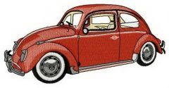 My Volkswagen bug embroidery design