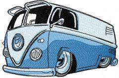 My Volkswagen embroidery design