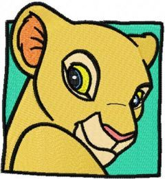 Nala embroidery design