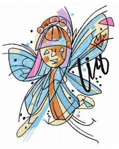 Nina Lia 2 embroidery design