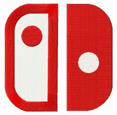 Nintendo Switch alternative logo embroidery design