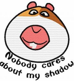 Nobody cares about my shadow embroidery design