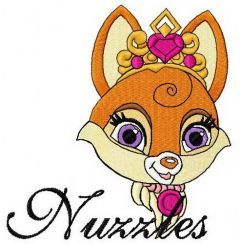 Nuzzles machine embroidery design 2