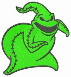 Oogie Boogie embroidery design