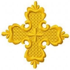 Orthodox cross 2 embroidery design