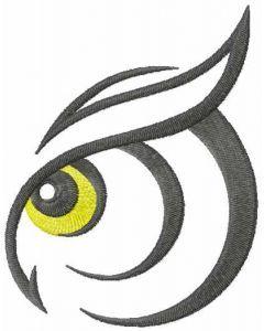 Owl eye 2 embroidery design