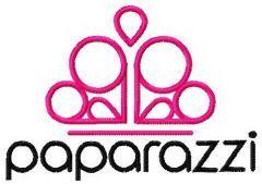 Paparazzi accesories logo embroidery design